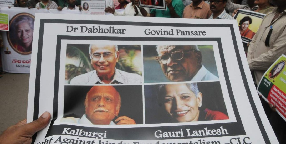 கௌரி லங்கேஷையும் கல்புர்கியையும் கொன்றவர்கள் ஒருவர்தான்! புது தகவல்