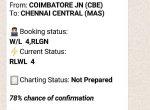 ஆப் தேவையில்லை! PNR ஸ்டேட்டஸை வாட்ஸ்அப்பிலும் பார்க்கலாம்!