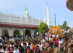 தயார் நிலையில் வஜ்ரா வாகனம்... 2500 போலீஸ் பாதுகாப்புடன் நடந்த முத்துப்பேட்டை விநாயகர் ஊர்வலம்!