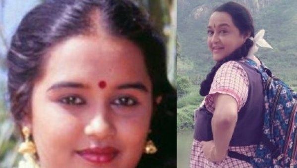 பள்ளிக்கூட மாணவி ஃப்ளாஷ்பேக்குடன் சித்ரா 'ரீ எண்ட்ரி'!