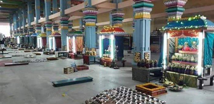 அசுத்தப்படும் கோயில் அமிர்தபுஷ்கரணி..! வேதனைப்படும் பக்தர்கள்