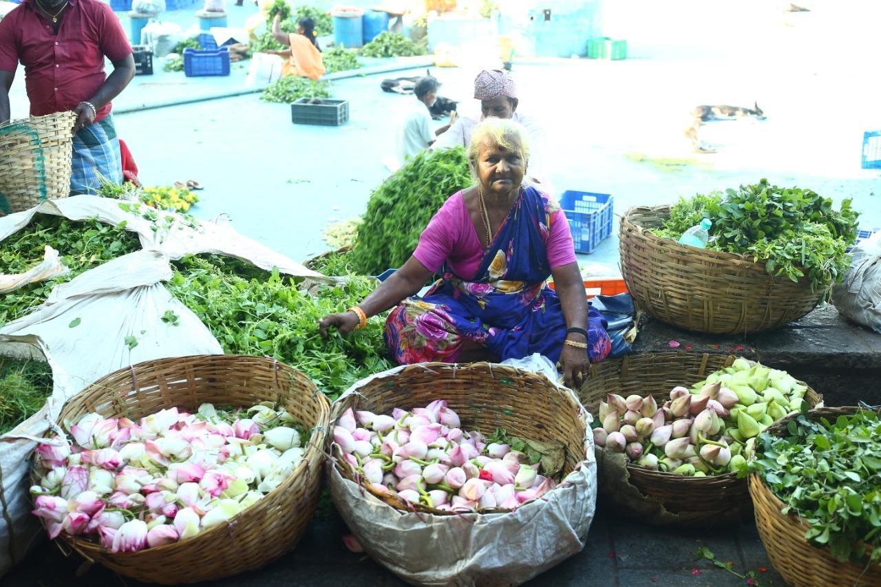 ராணி பாட்டி கதை - கோயம்பேடு மார்கெட்