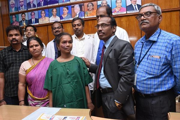 சிறுமி தசபந்தி - ஸ்டான்லி மருத்துவமனை