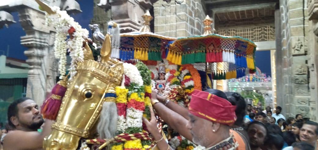 பழநி கோயிலில் நவராத்திரி விழா