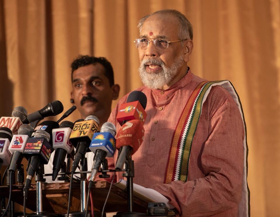 வடக்கு இலங்கை முதலமைச்சர் விக்கினேசுவரன் புதிய கட்சி