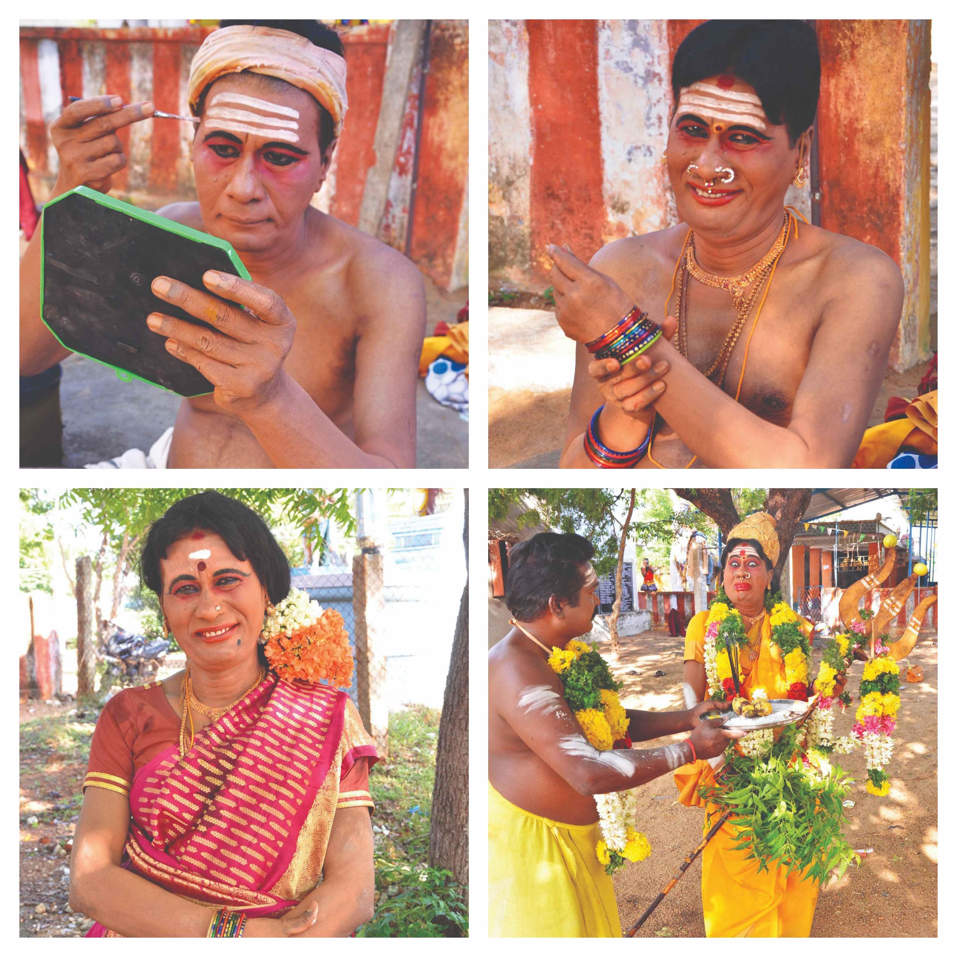 அம்மன் வேடத்தில் கலக்கும் பேங்க் மேனேஜர்