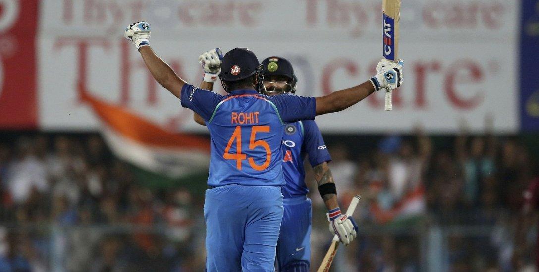36, 20, 5... கோலி + ரோஹித்... கிளாஸிக்  கூட்டணியின் மைல்கற்கள்! #INDvWI