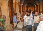 ராஜராஜ சோழன் சதய விழாவில் சிலைக் கடத்தல் தடுப்புப் பிரிவு போலீஸார் திடீர் ஆய்வு!