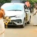பம்பை சென்ற சென்னை தம்பதி மீது தாக்குதல் - வேடிக்கை பார்த்த கேரள போலீஸ்!