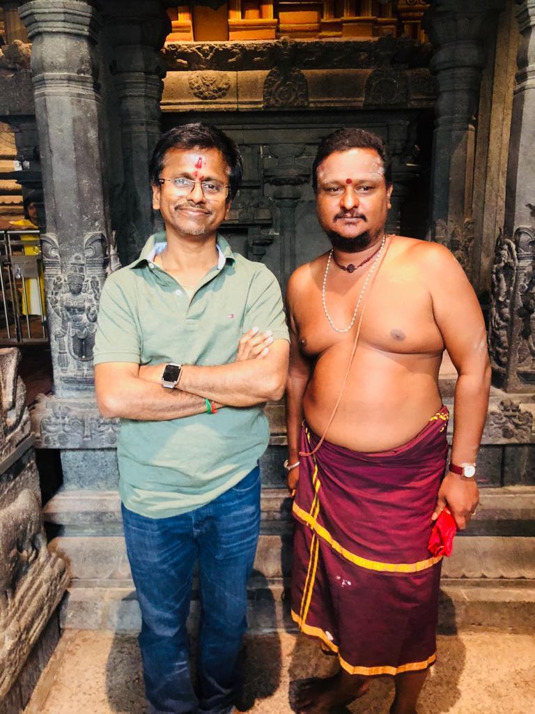 ஏ.ஆர். முருகதாஸ், சர்கார், காஞ்சிபுரம் காமாட்சி அம்மன்