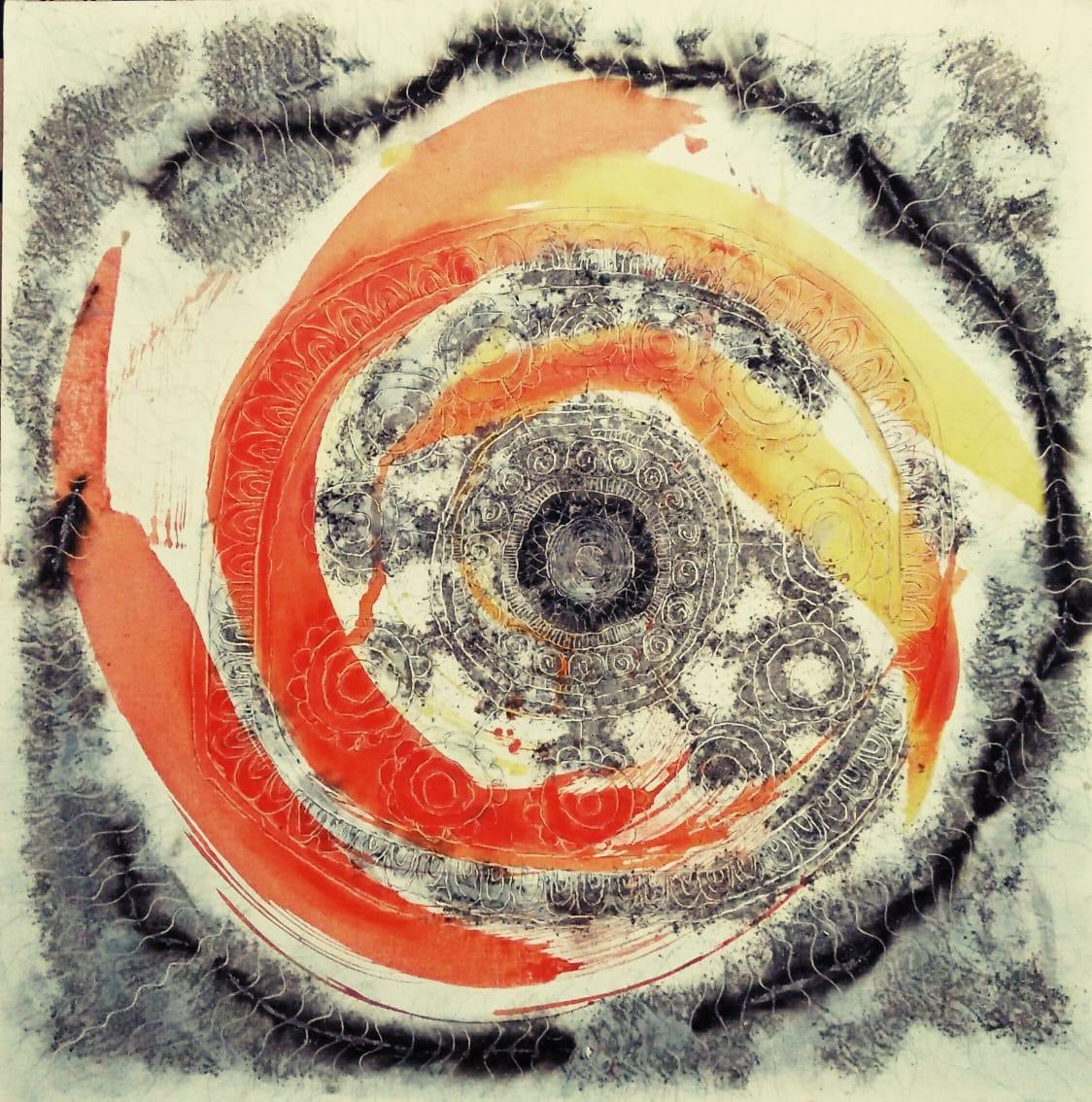 வசந்த குமாரின் ஓவியம்