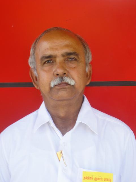 தமிழ்த் தேசியப் பேரியக்கத்தின் பொதுச் செயலாளர் கி.வெங்கட்ராமன்