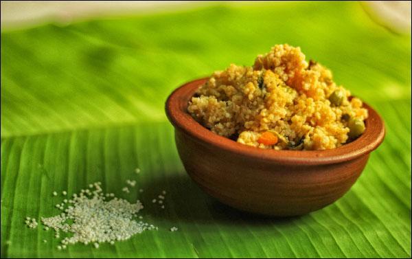 தினை - தேங்காய்ப்பால் புலாவ்