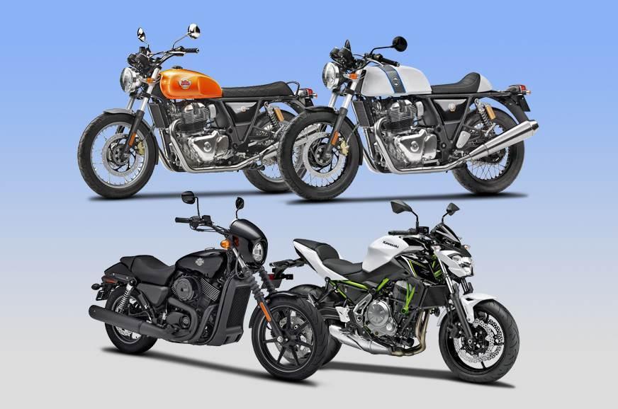 650-750cc Bikes