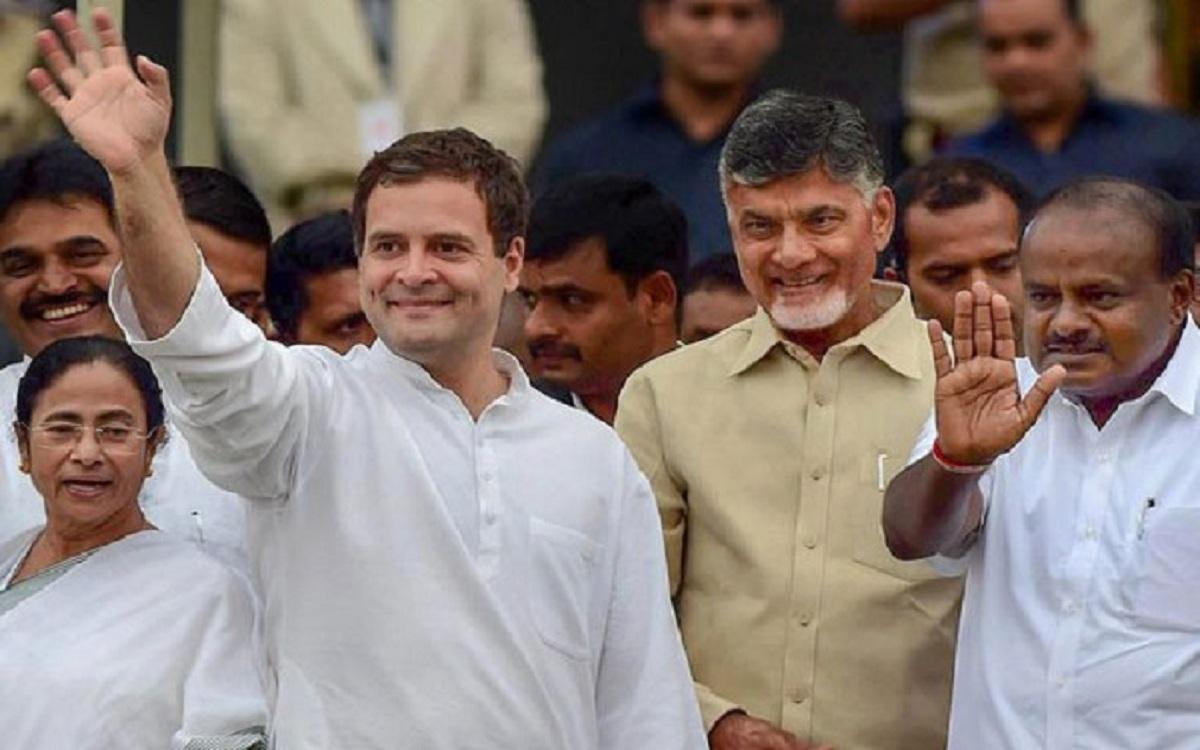 ராகுல்காந்தி - சந்திரபாபு நாயுடு - 5 மாநிலத் தேர்தல்