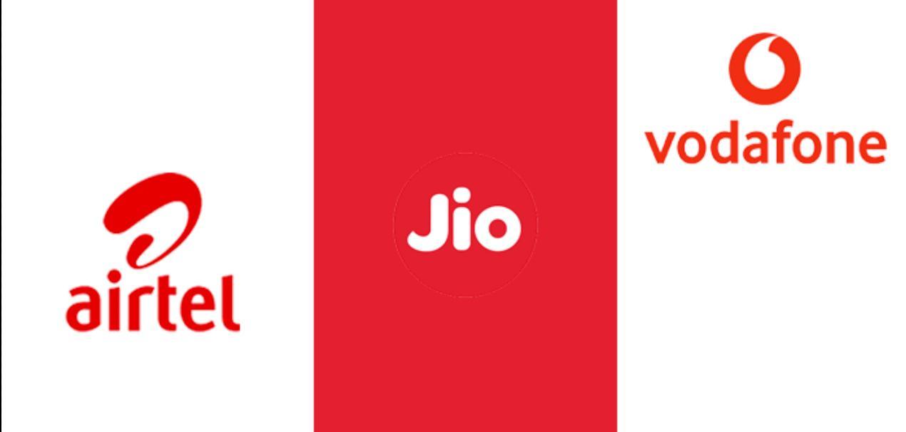 Airtel Jio Vodafone