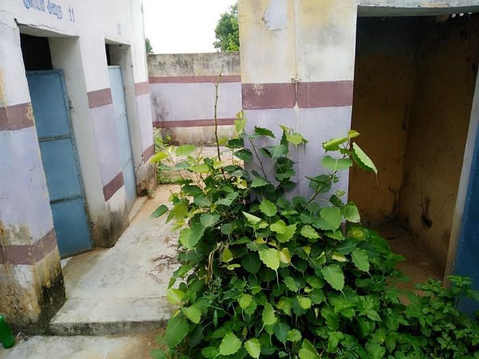 மோசமான நிலையில்  ஒருங்கிணைந்த மகளிர் சுகாதார வளாகம்