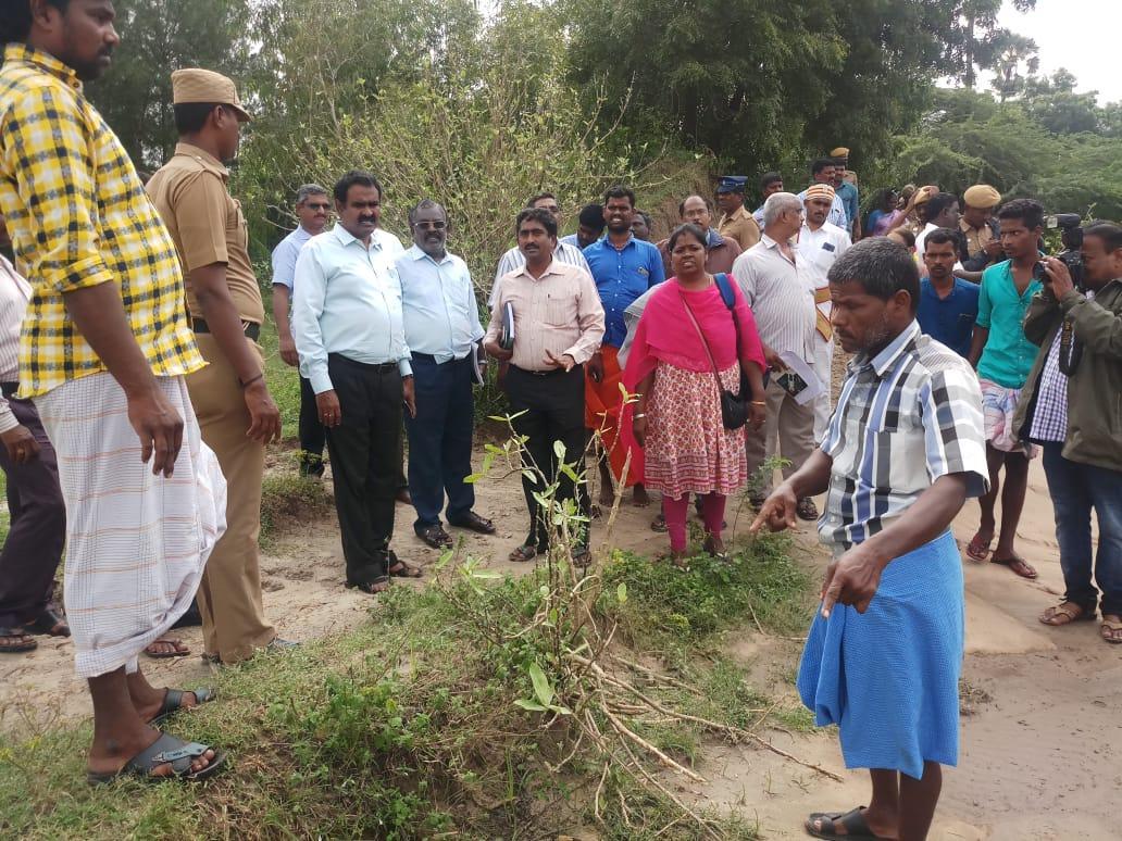மாவட்ட ஆட்சியர் பொன்னையா ஆய்வு