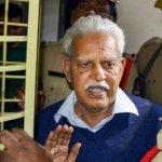 எழுத்தாளர் வரவர ராவ் மகாராஷ்ட்ரா காவல்துறையால் மீண்டும் கைது... #BhimaKoregaon