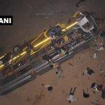 ஒடிசாவில் 30 அடி உயரத்திலிருந்து விழுந்த பேருந்து - 7 பேர் உயிரிழந்த சோகம்
