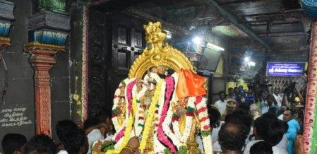 தாயாரிடம் வேல் பெற்ற சிங்காரவேலவர் - கோலாகலமாக நடைபெற்ற கந்தசஷ்டி திருவிழா!