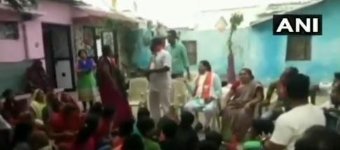 காங்கிரஸ் பெண் பிரமுகர்