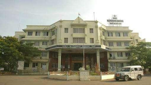 தேனி மாவட்ட ஆட்சியர் அலுவலகம்
