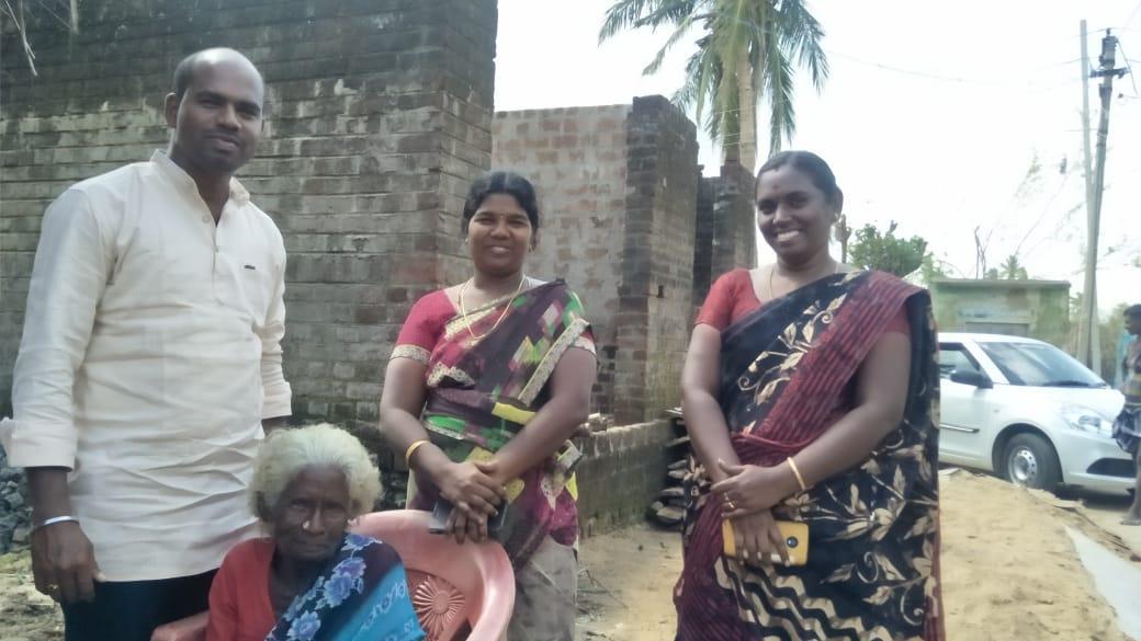 பாக்கியம் பாட்டியோடு பூபதி, பிருந்தா