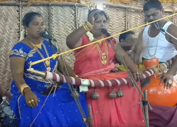 வில்லுப்பாட்டுக் கலைஞர் முத்துலெட்சுமி