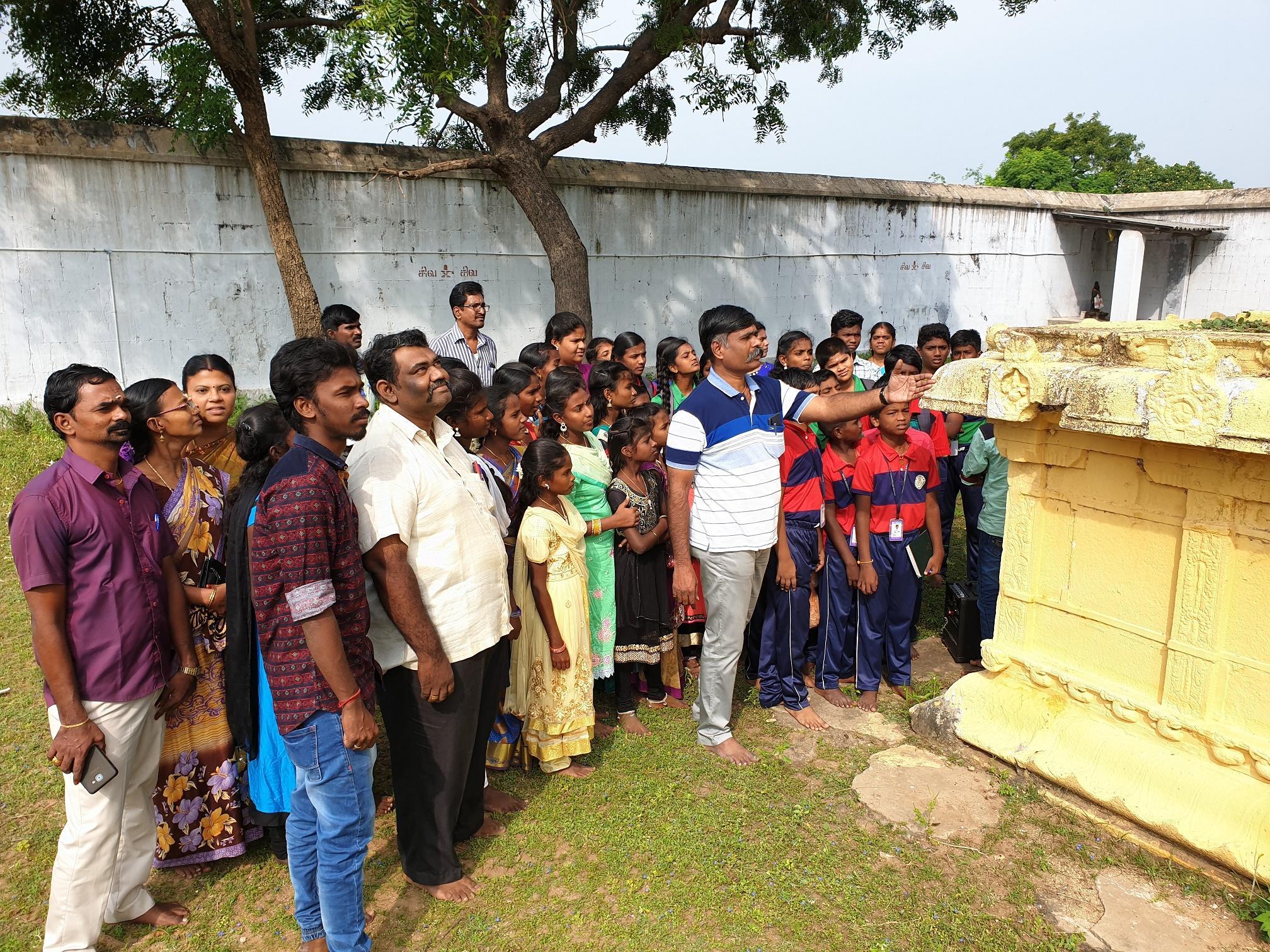 ராமநாதபுரம் தொல்லியல் ஆய்வு நிறுவனம் நடத்திய மரபு நடை.