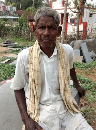 கஜாவில் பாதிக்கப்பட்ட விவசாயி ராமலிங்கம்