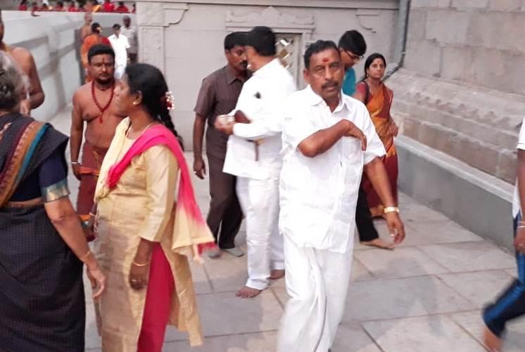 அமைச்சர் ஓ.எஸ்.மணியன், காஞ்சிபுரம், மதம்