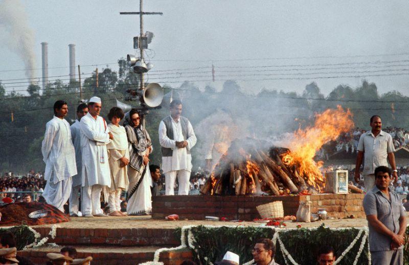 இந்திரா காந்தி படுகொலை