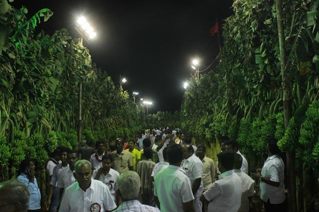 ஸ்டாலின் பொதுக்கூட்டத்திற்கு தடபுடல் ஏற்பாடு
