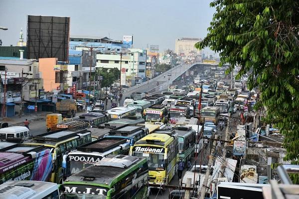 சென்னை போக்குவரத்து நெரிசல்