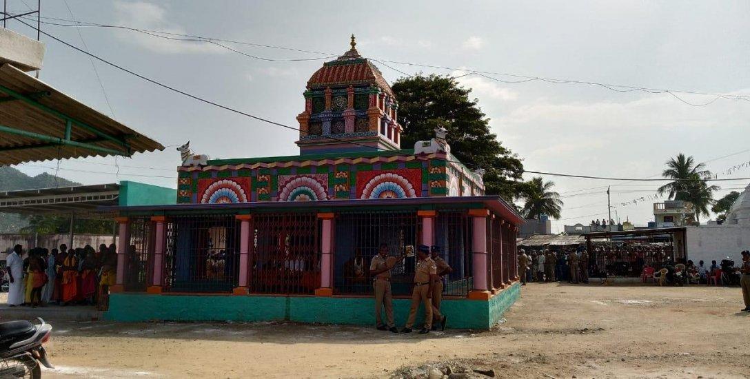 சேலம் மாவட்டத்தில் 42 ஆண்டுக்குப் பின் மீட்கப்பட்ட சிலை; பொதுமக்கள் மகிழ்ச்சி