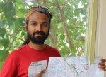 குழந்தைகள் பாதுகாப்புகாக, 3350 கி.மீ சைக்கிளில் பரப்புரை செய்யும் நரேஷ்குமார்