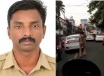 நெரிசலில் சிக்கிய ஆம்புலன்ஸ்... ஓடி ஓடி வழி ஏற்படுத்தும் காவலர்... குவியும் பாராட்டுகள் #ViralVideo