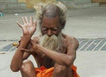 ஜீவசமாதி அடைந்தார் மூக்குப் பொடி சித்தர் -தி.மலையில் இன்று மாலை நல்லடக்கம்