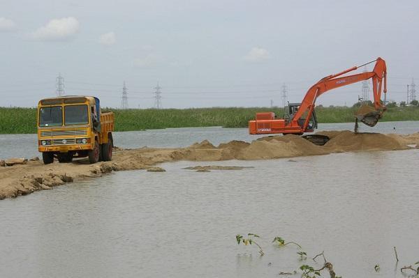 மணல் கொள்ளை - க்ரைம் ரிப்போர்ட்