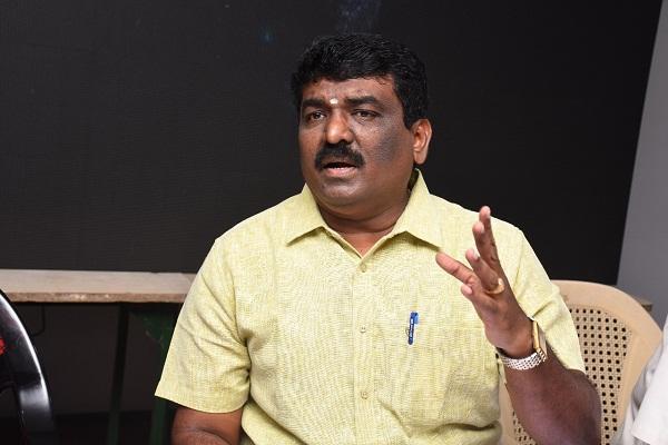 பிளாஸ்டிக் உற்பத்தியாளர்கள் சங்கம் தலைவர் முத்துமாணிக்கம்