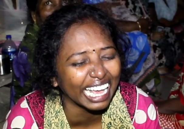 ரவுடி சந்தானத்தின் மனைவி