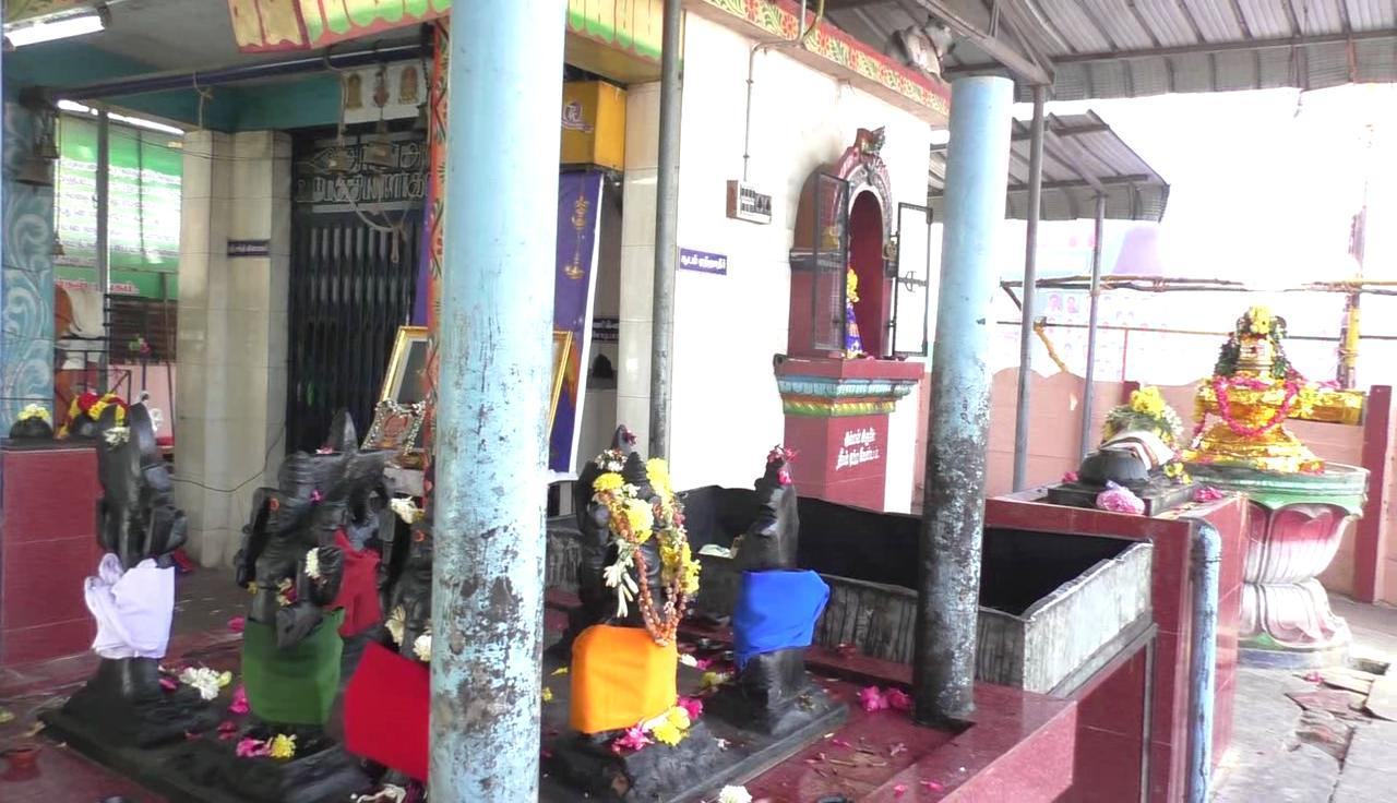 கொள்ளையர்கள் கைவரிசை காட்டிய விநாயகர் கோயில்