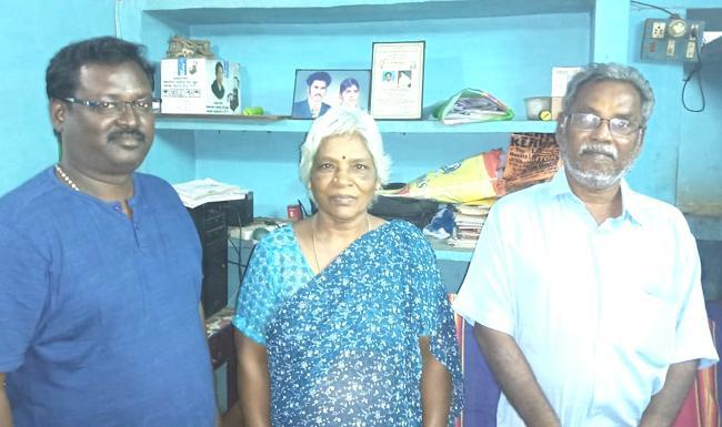 அருண்ராஜா காமராஜா பெற்றோர் மற்றும் அண்ணன் ராஜா