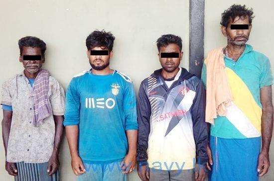 இலங்கை சிறையில் இருந்து விடுதலை செய்யப்பட்ட ஜெகதாபட்டினம் மீனவர்கள்