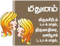 மிதுன ராசி