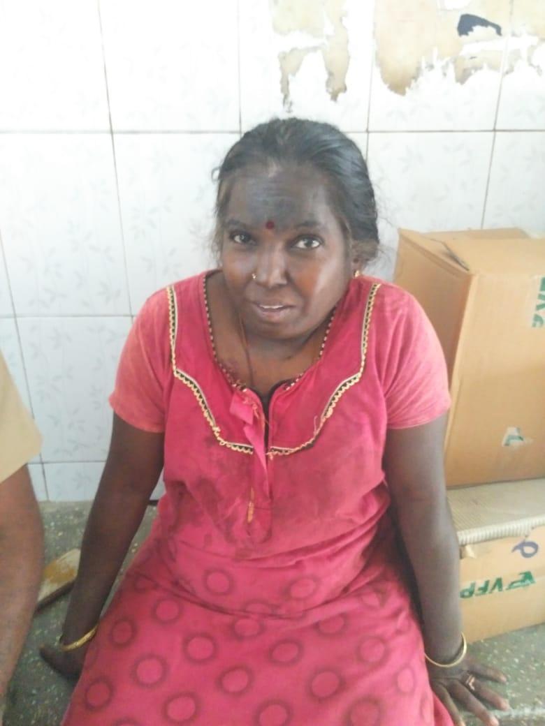 கத்திக்குத்து விழுந்த முருகேஸ்வரி