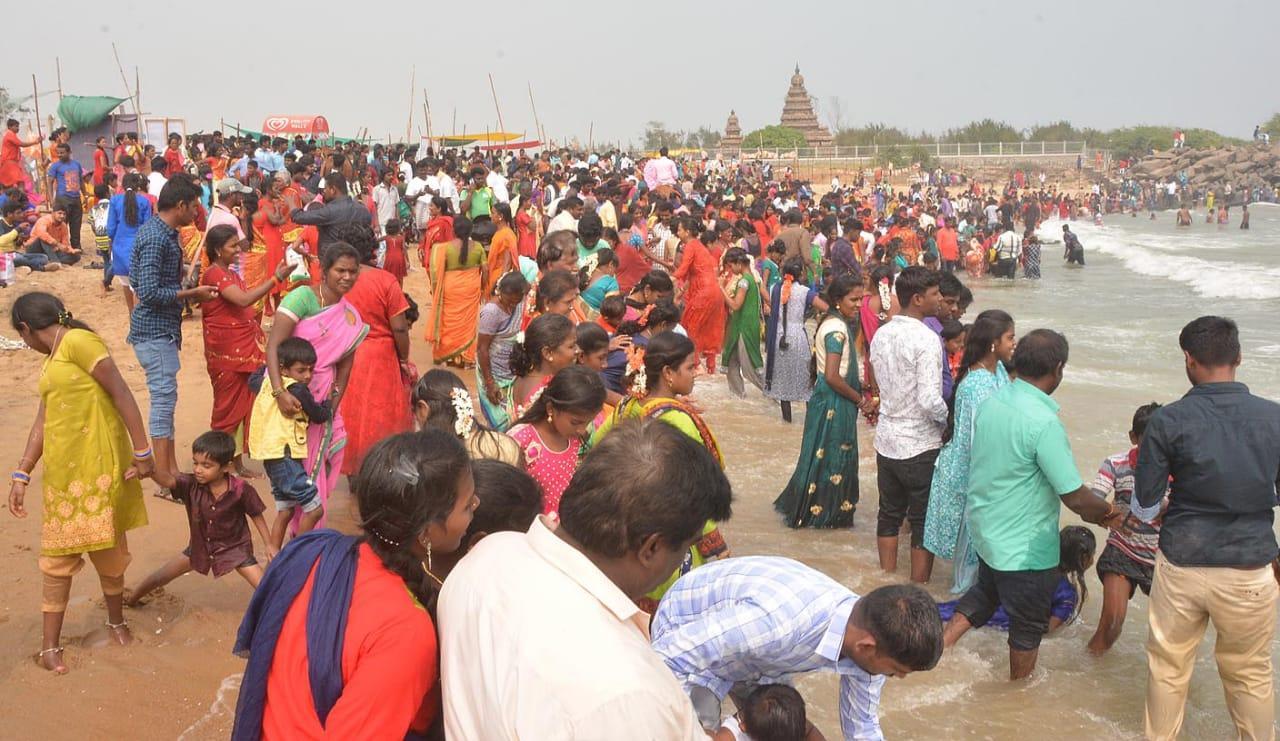 மாமல்லபுரம் காணும் பொங்கல்