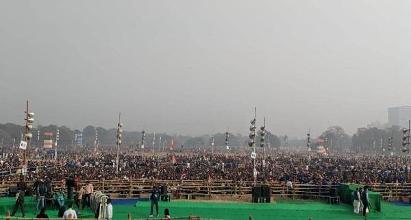 மம்தா நடத்தும் பிரமாண்ட மாநாடு