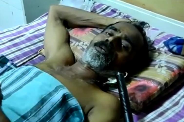 ரயில்வே ஊழியர் சதீஷின் அப்பா சுதேஷ்